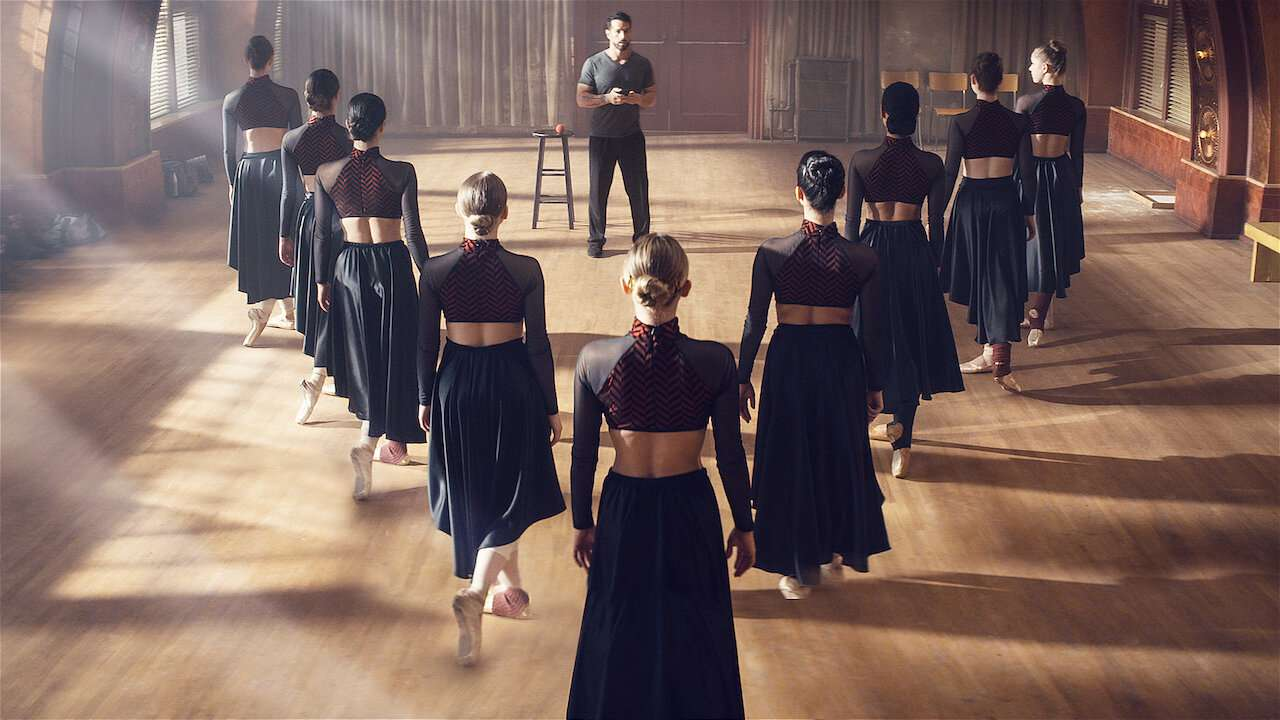 A dance class in Tiny Pretty Things