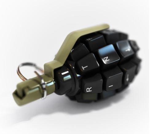 photo of logic bomb