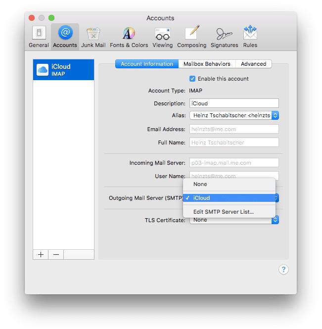 How To Specify A Preferred SMTP Server On A Mac