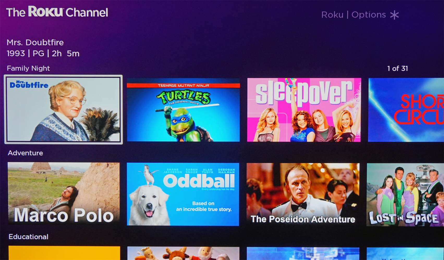 The Roku Channel – Movies