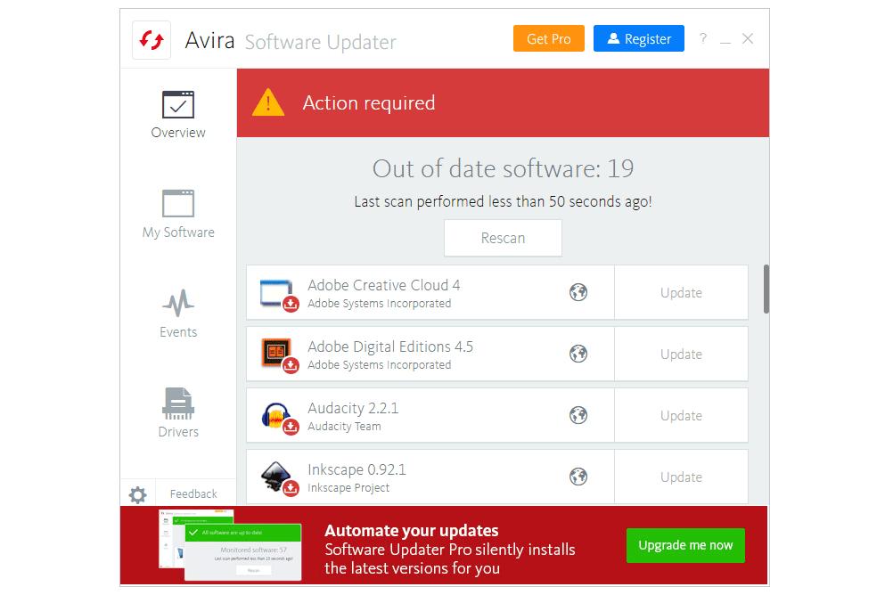 10 Free Software Updater Programs (September 2019)