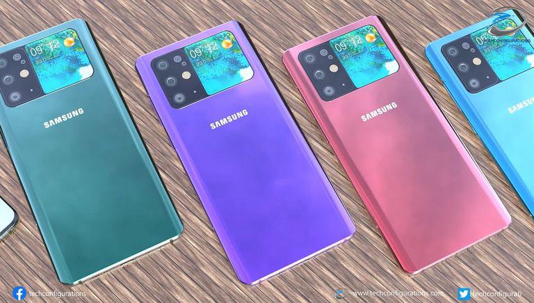 Samsung Galaxy S30 concept designs.