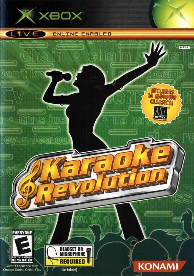 Karaoke Revolution box art