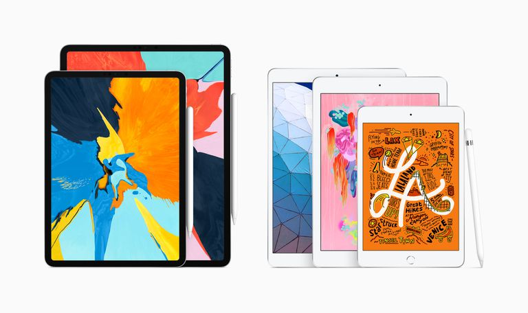 iPad Pro and iPad models, with Apple Pencil