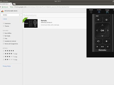 Remoku Chrome App