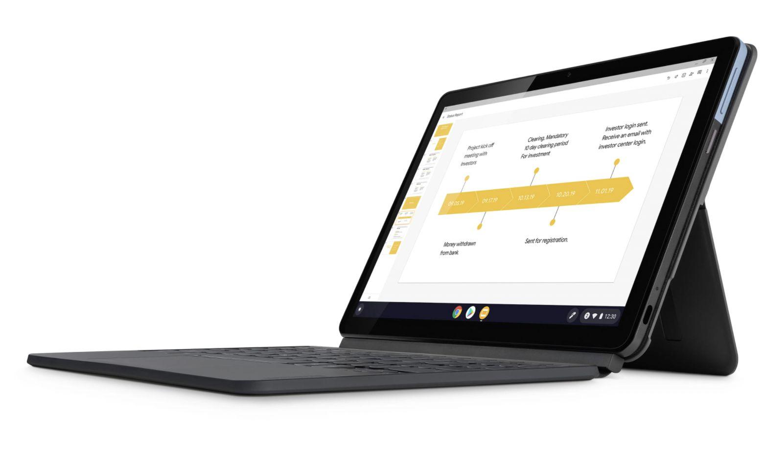 Google Chromebook in black