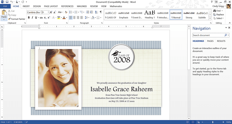 Get Microsofts Best Graduation Templates