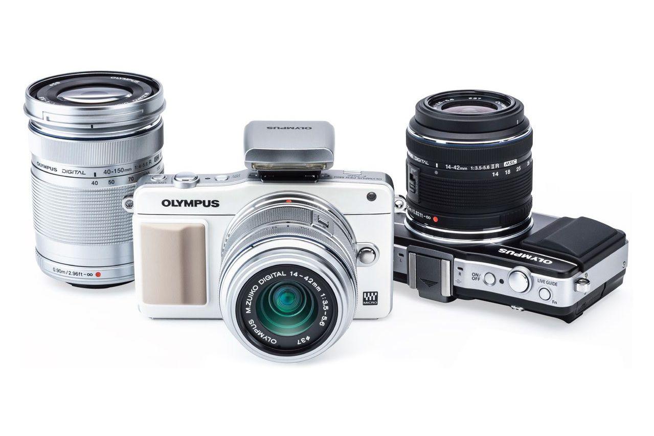 Olympus PEN Mirrorless Cameras