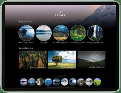 Portal app on iPad