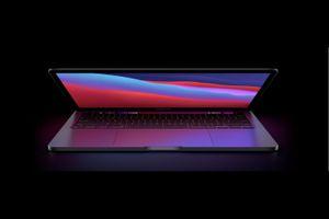 A MacBook Pro