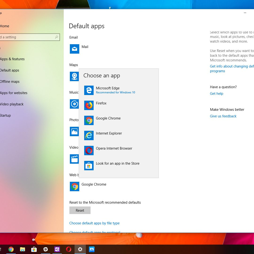 How to Change the Default Browser in Windows