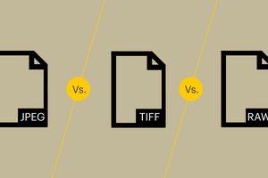 JPEG vs. TIFF vs. RAW