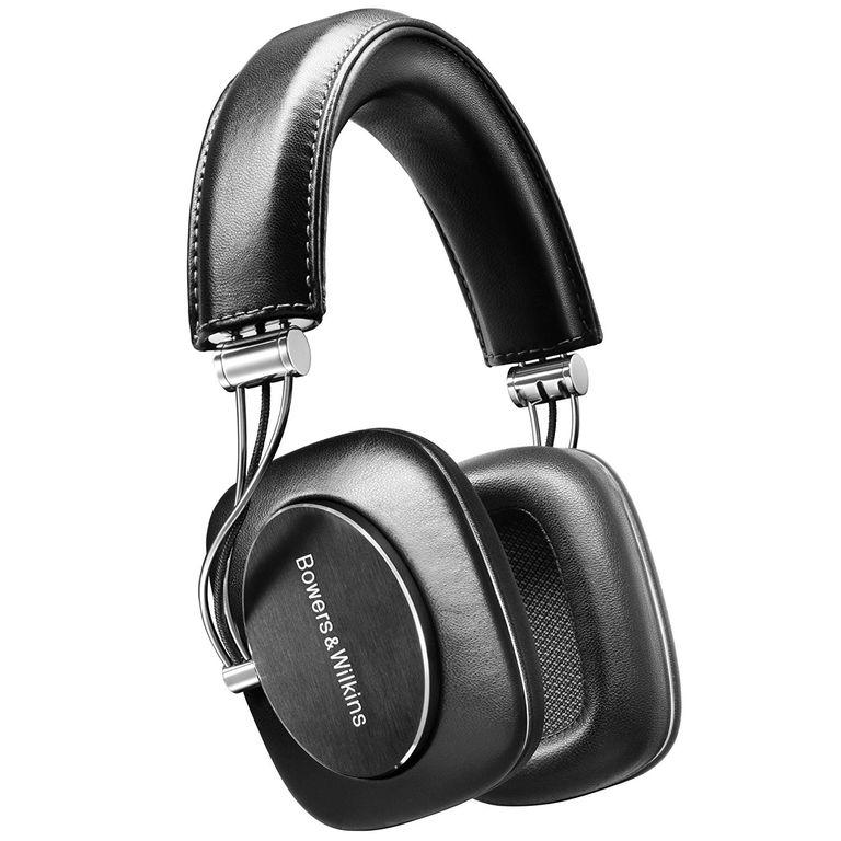 B & W, Bowers & Wilkins P7 over ear headphone in black