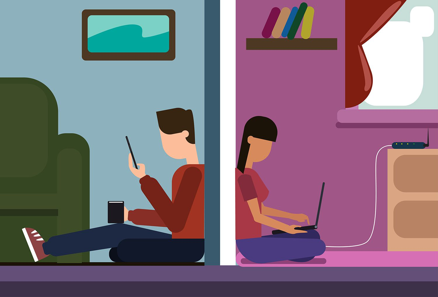 How to Hide Your Wireless Network from Your Neighbors