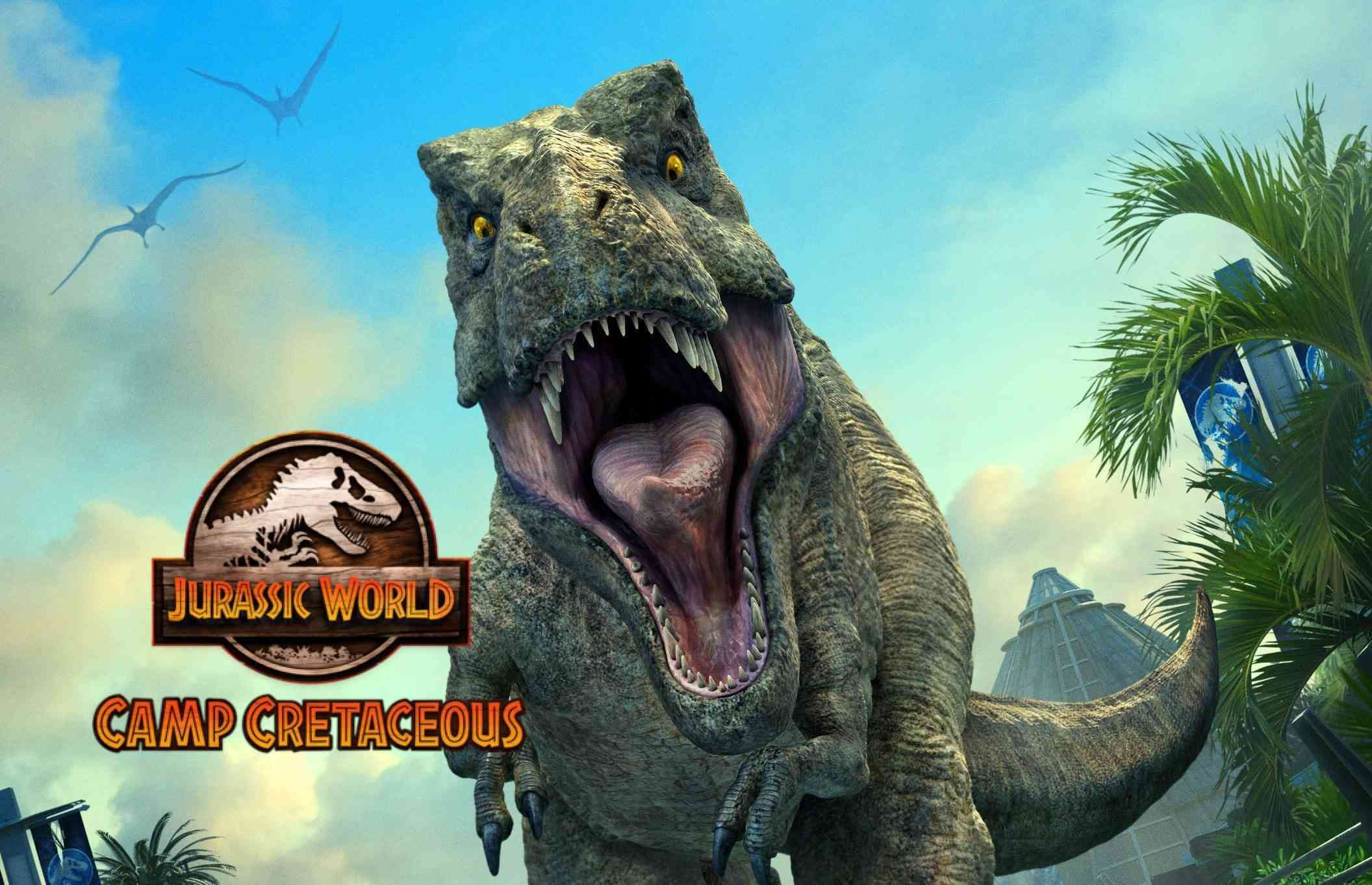 T-Rex in Jurassic World Camp Cretaceous