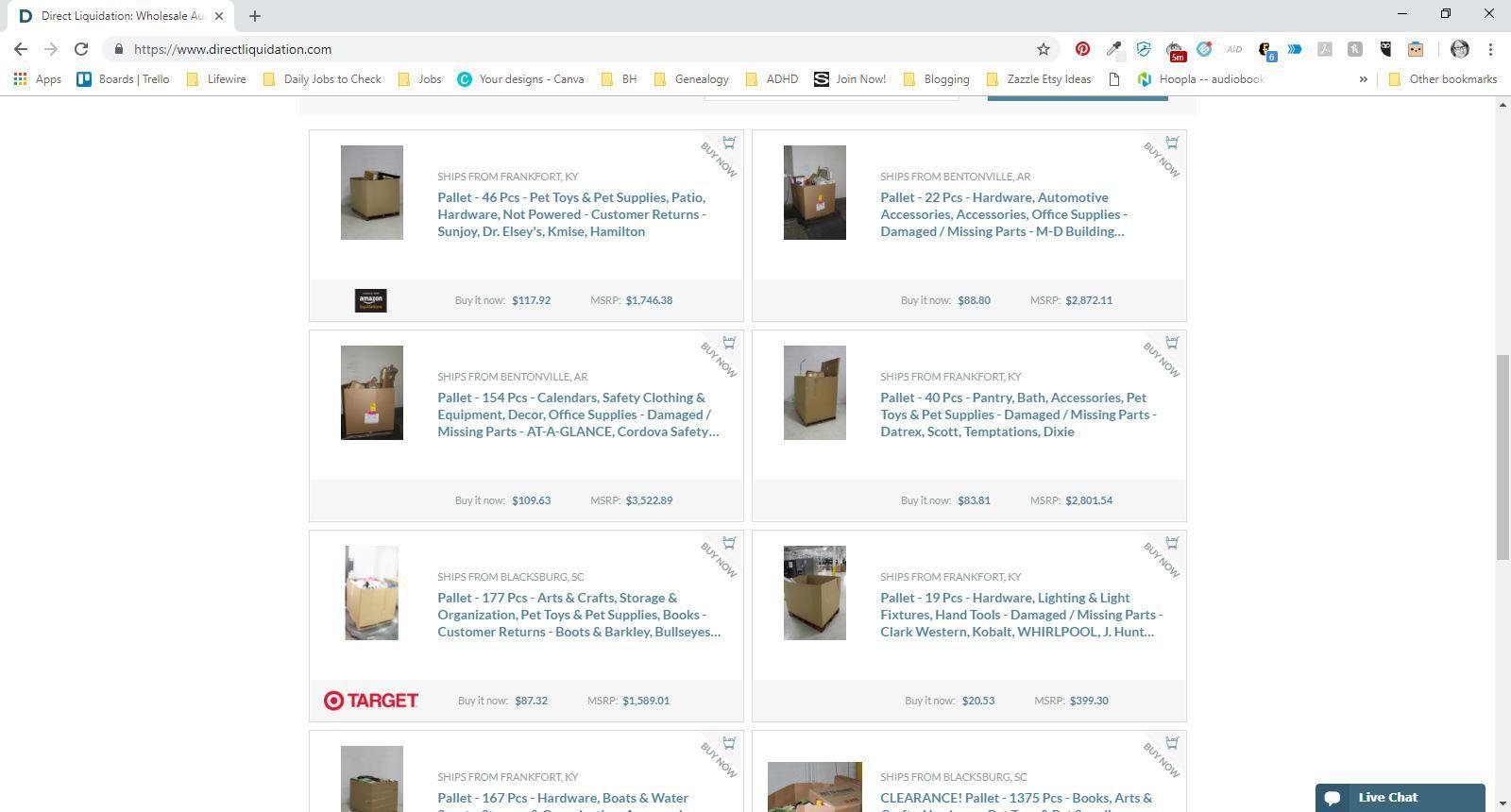Liquidation Sites: Best Wholesale Auctions Online