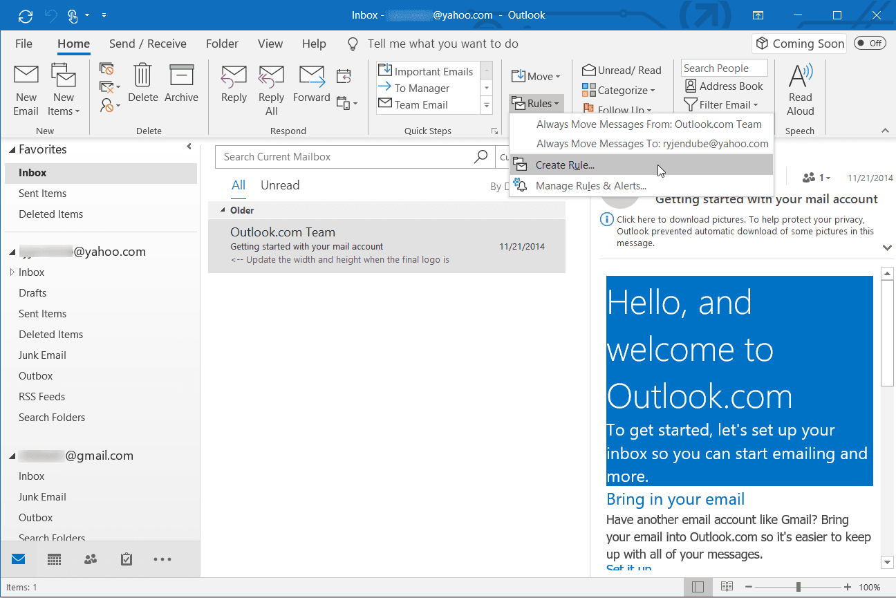 download outlook mail