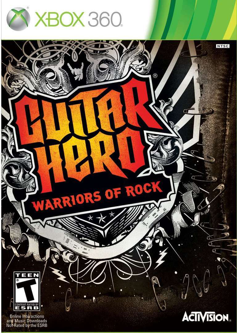 GH Warriors of Rock box