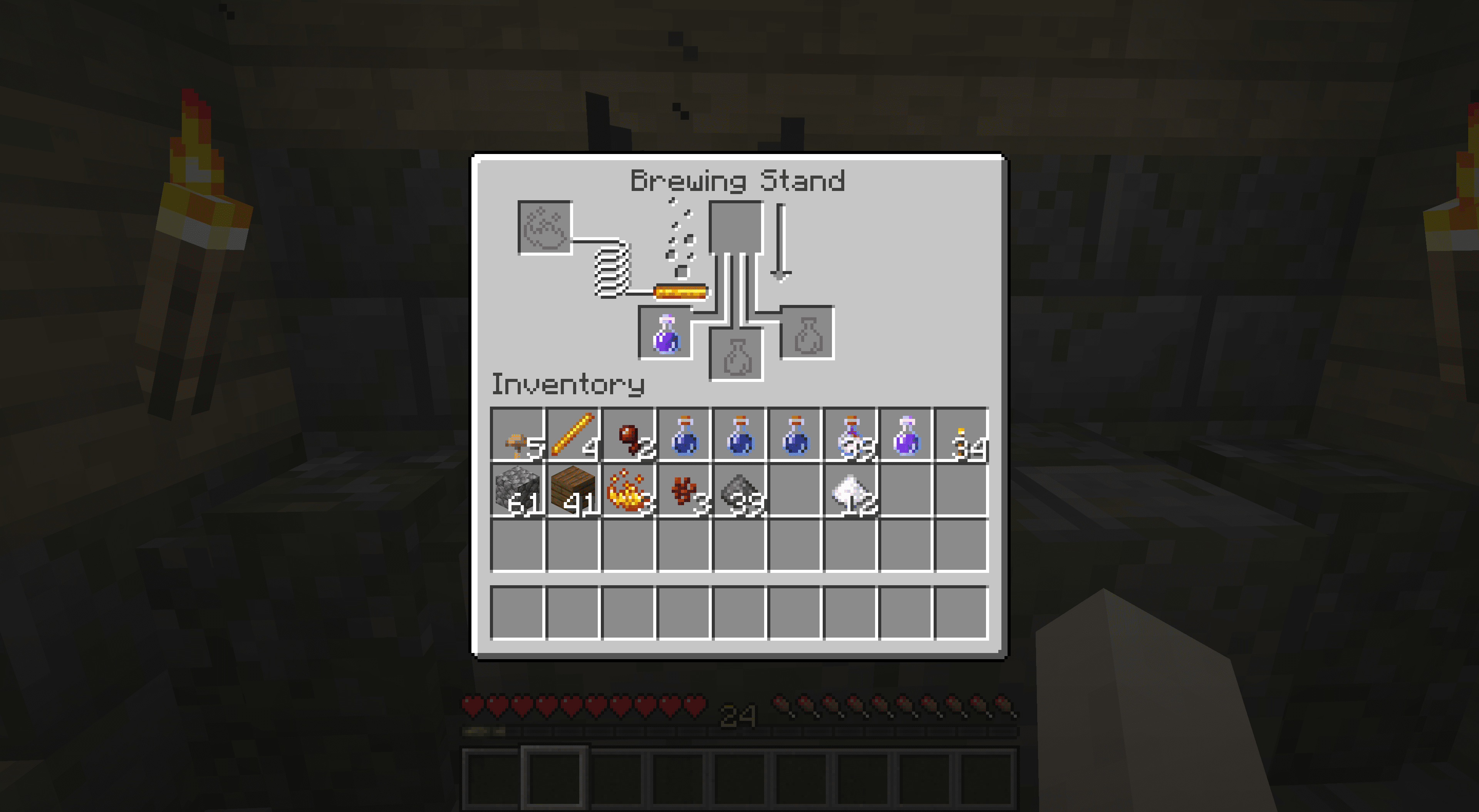 A Potion of Harming in Minecraft.