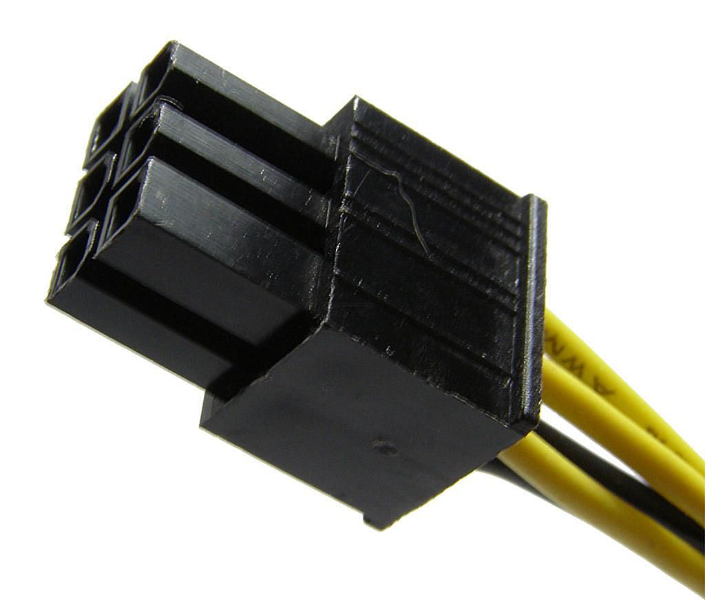 ATX 6 Pin Power Connector Pinout Table