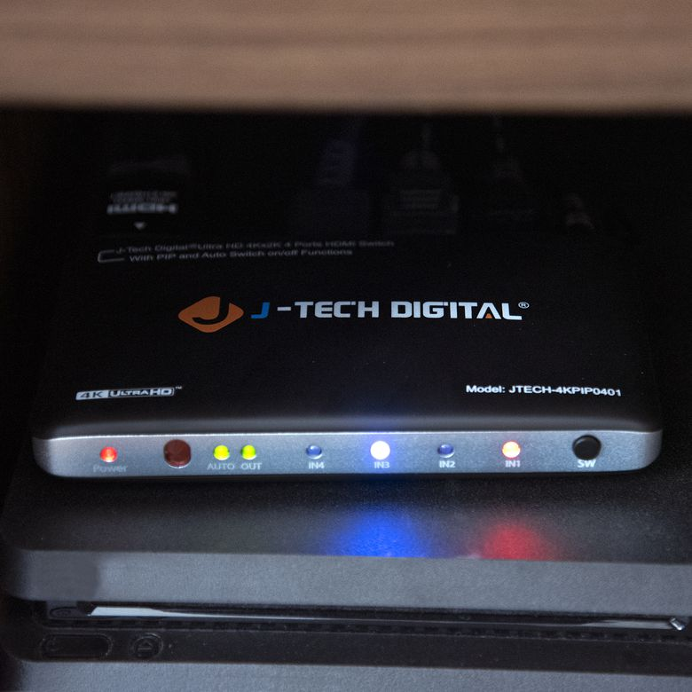 J-Tech Digital 4x1 HDMI Switch