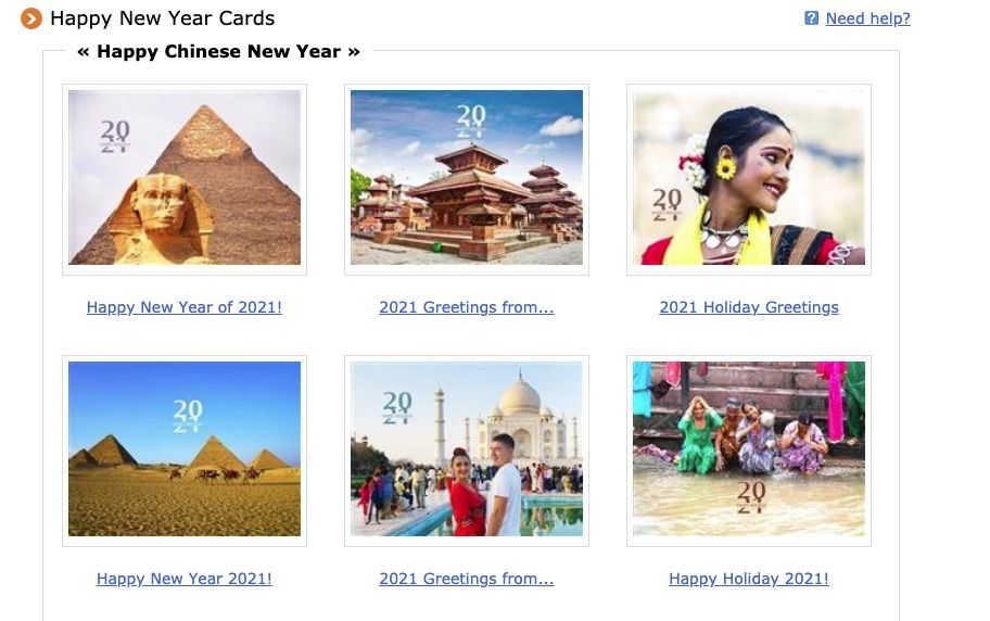 Travel China Guide Chinese New Year E-Cards