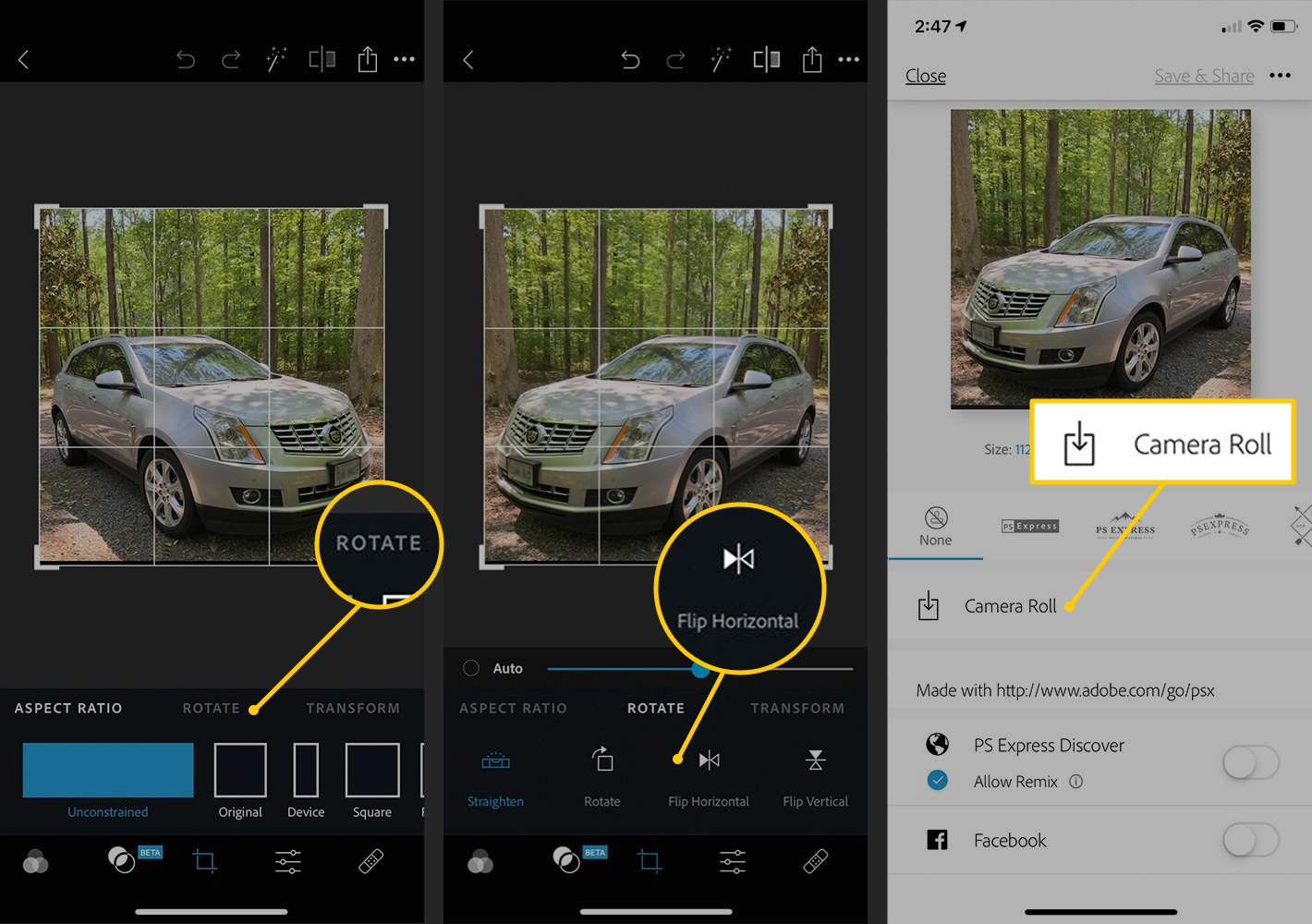 How to Mirror or Flip an Image on iPhone