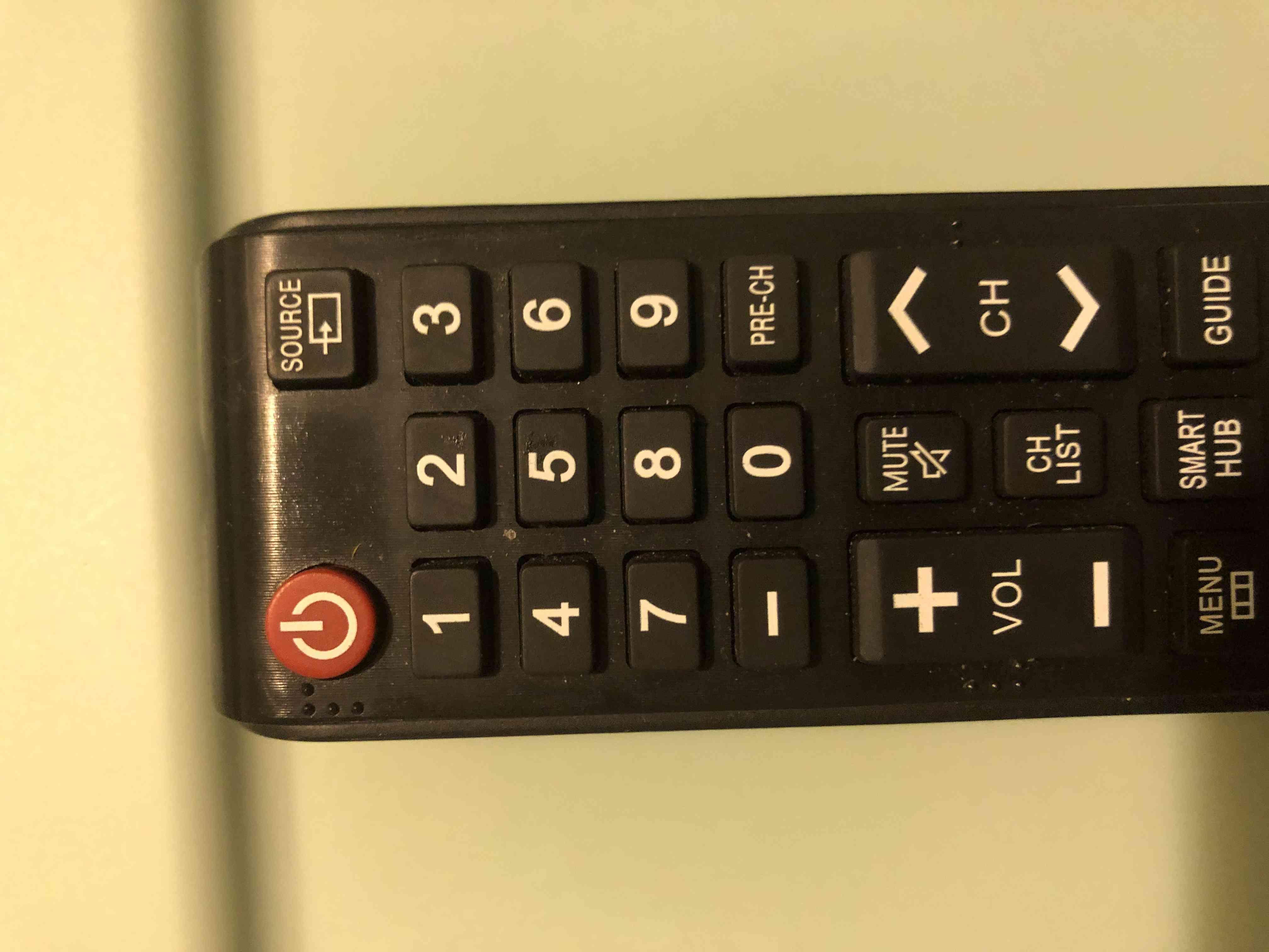 Source/Input Button