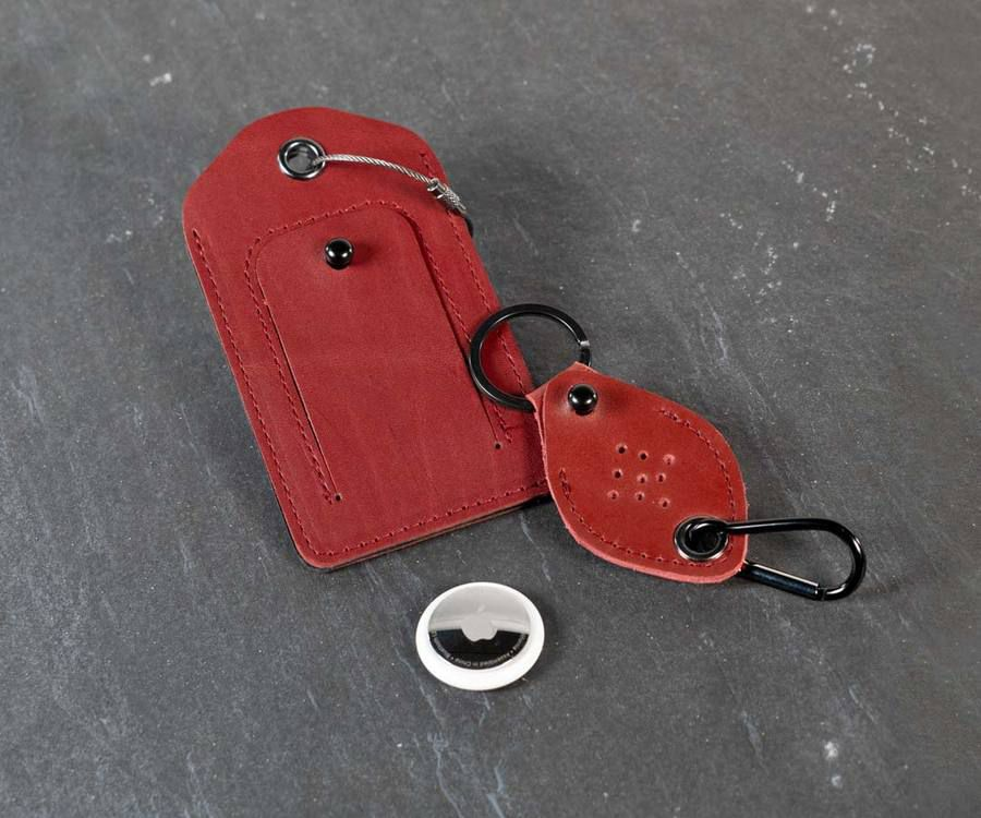 WaterField's new AirTag Keychain and Luggage Tag