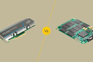 PCIe vs. SSD