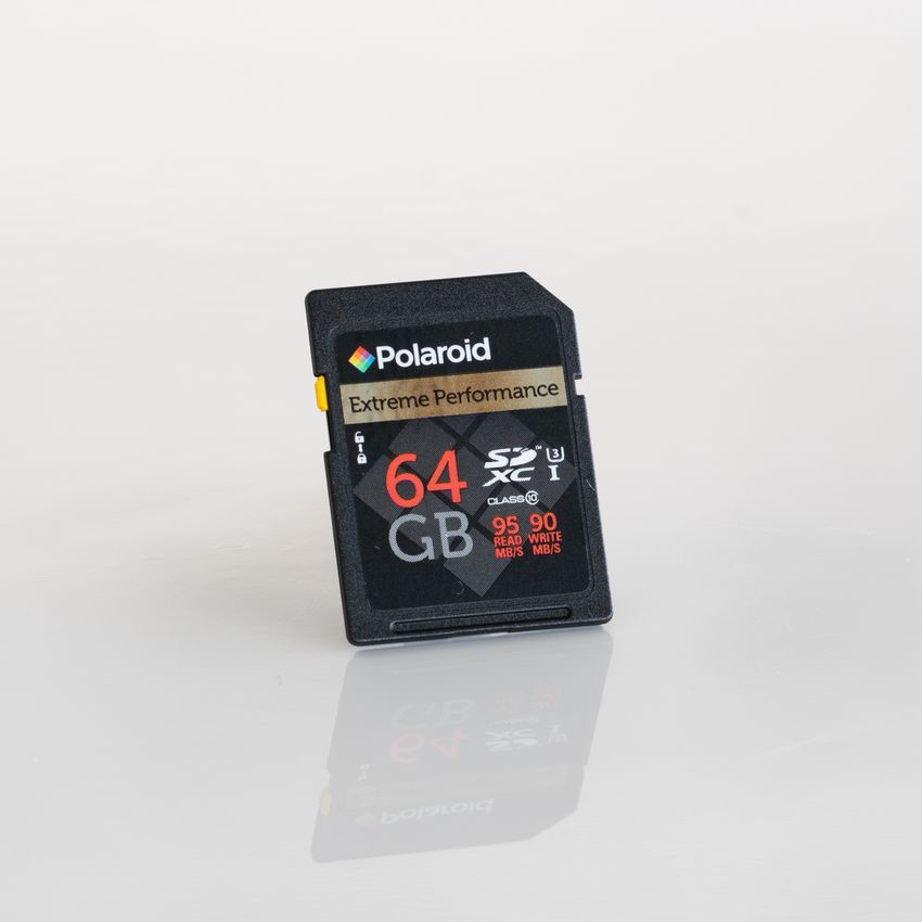 Polaroid 64GB SDXC Card