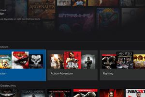 The PlayStation Now streaming video game service offers a variety of PS2, PS3, and PS4 titles.