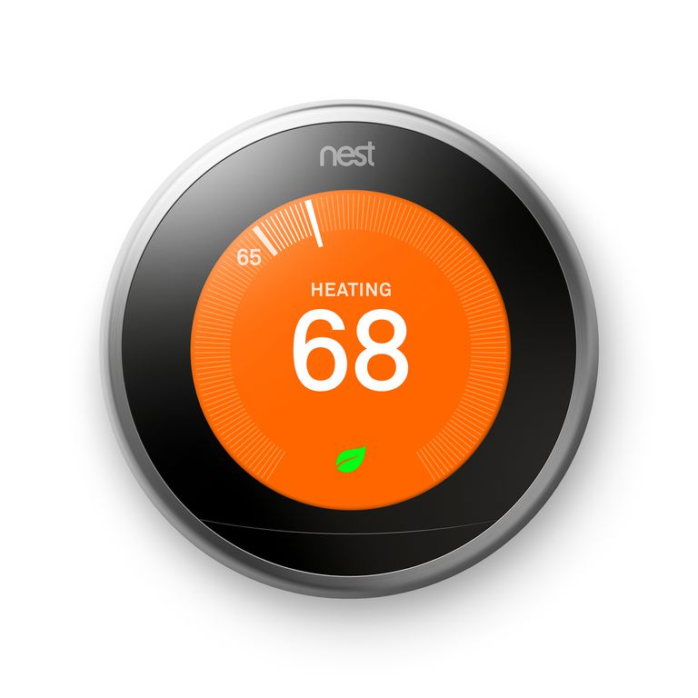 The Google Nest Learning Thermostat
