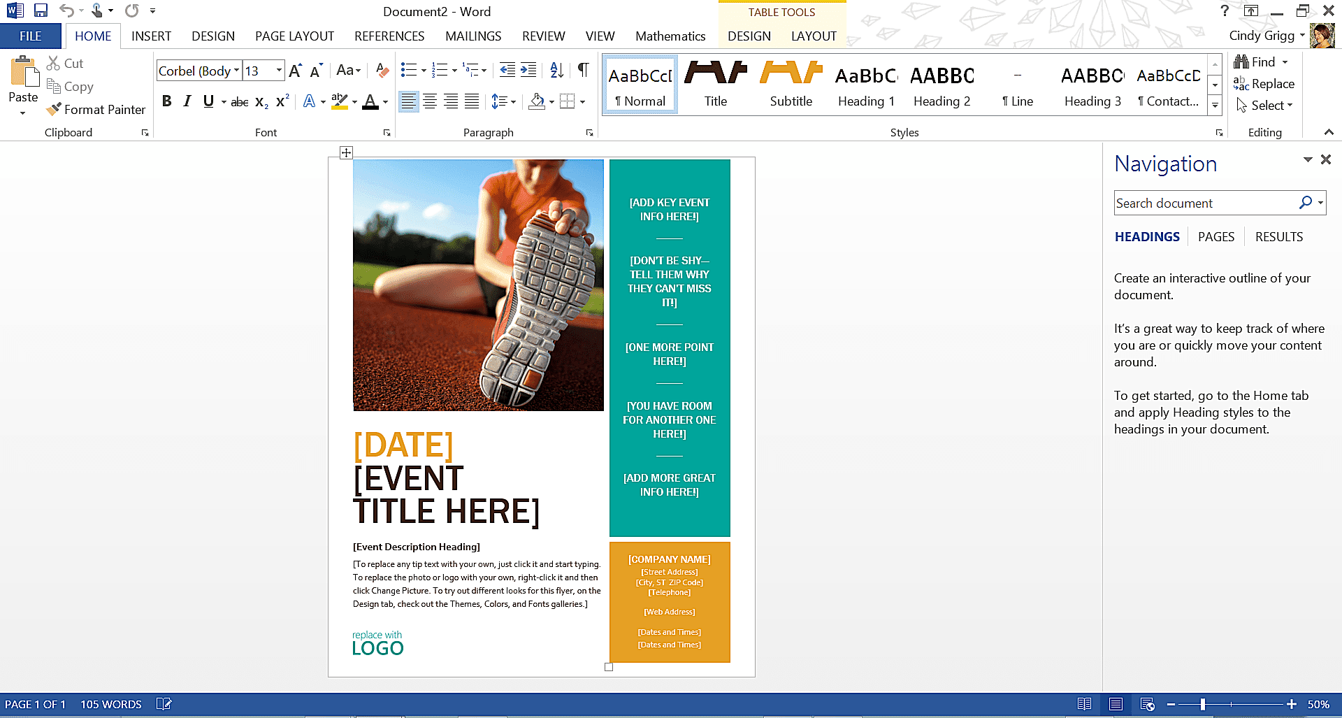 microsoft word page themes