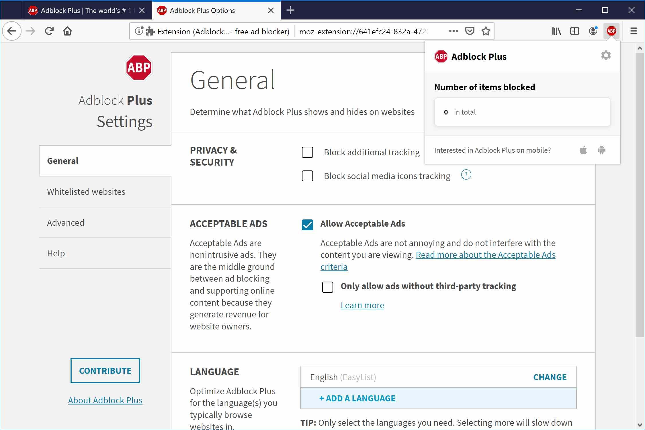 Firefox blocking porn sites july 2020