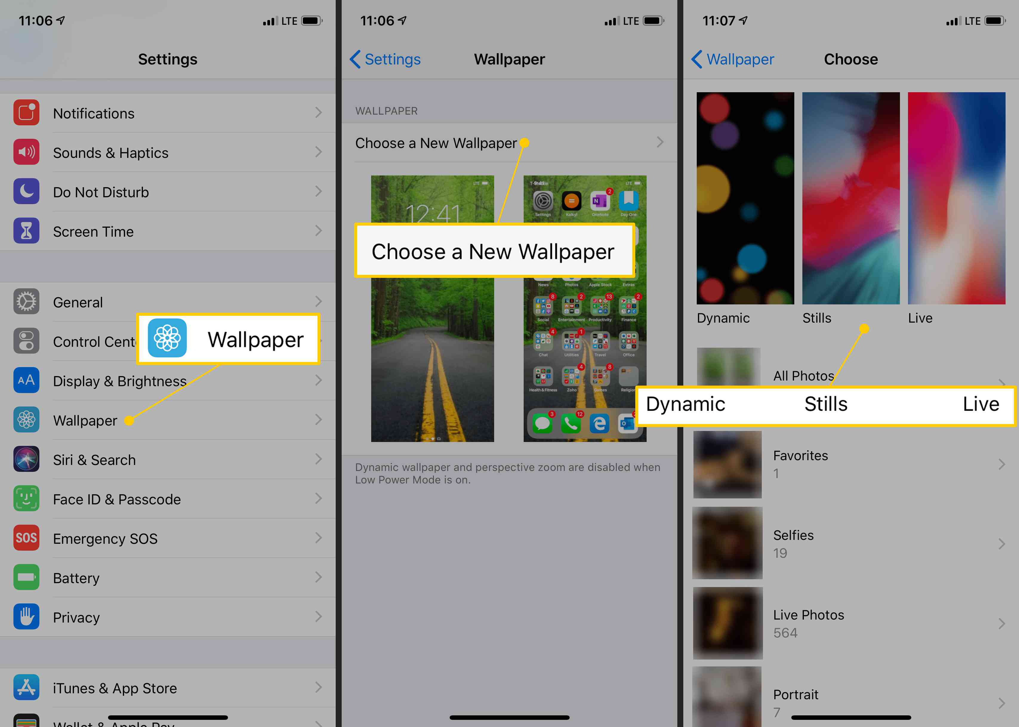 How To Make A Live Wallpaper With Multiple Pictures On Iphone image number 18