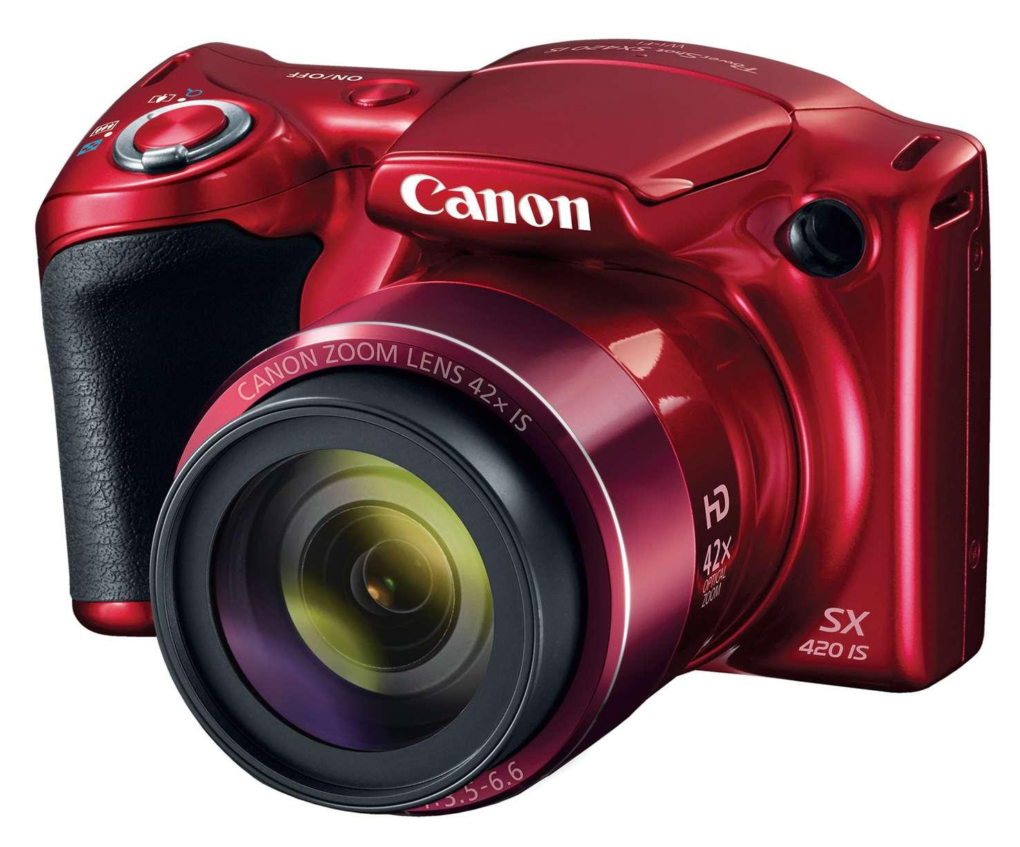 Canon PowerShot SX420 camera.