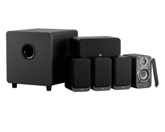 Monoprice HT-35 5.1-Channel Home Theater System