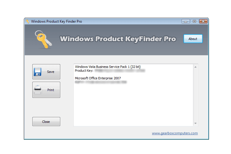 windows 7 license key finder