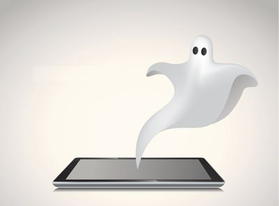 iPad ghost