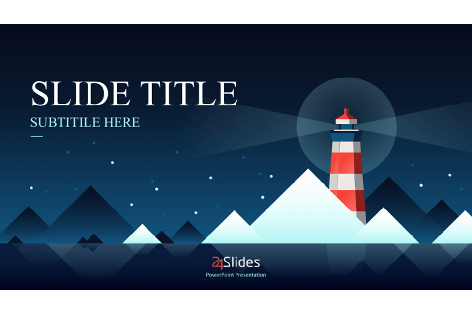 24Slides PowerPoint template