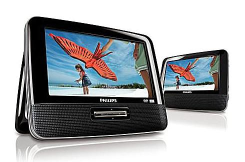 The Philips PET7402A Portable DVD Player