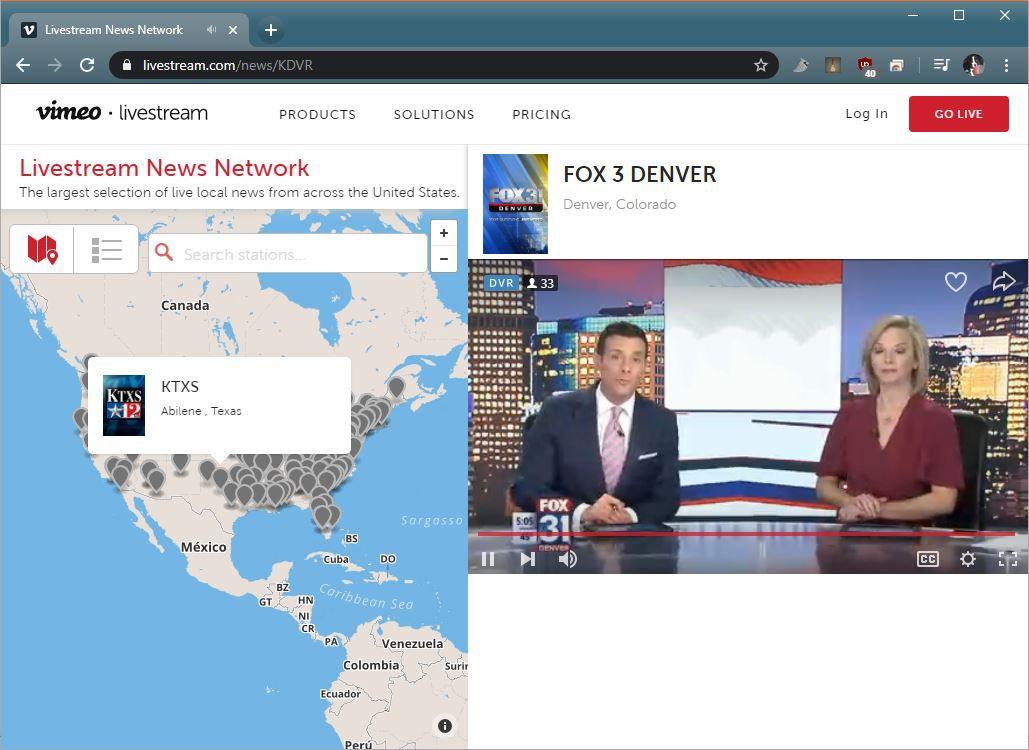 A news Livestream on Livestream.com