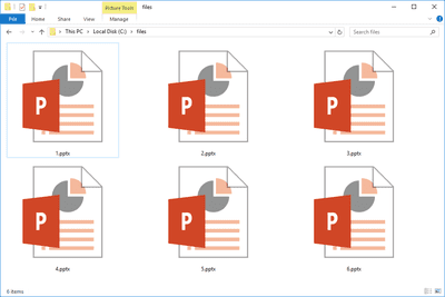 Change powerpoint show file to powerpoint work file pptx files toneelgroepblik Gallery