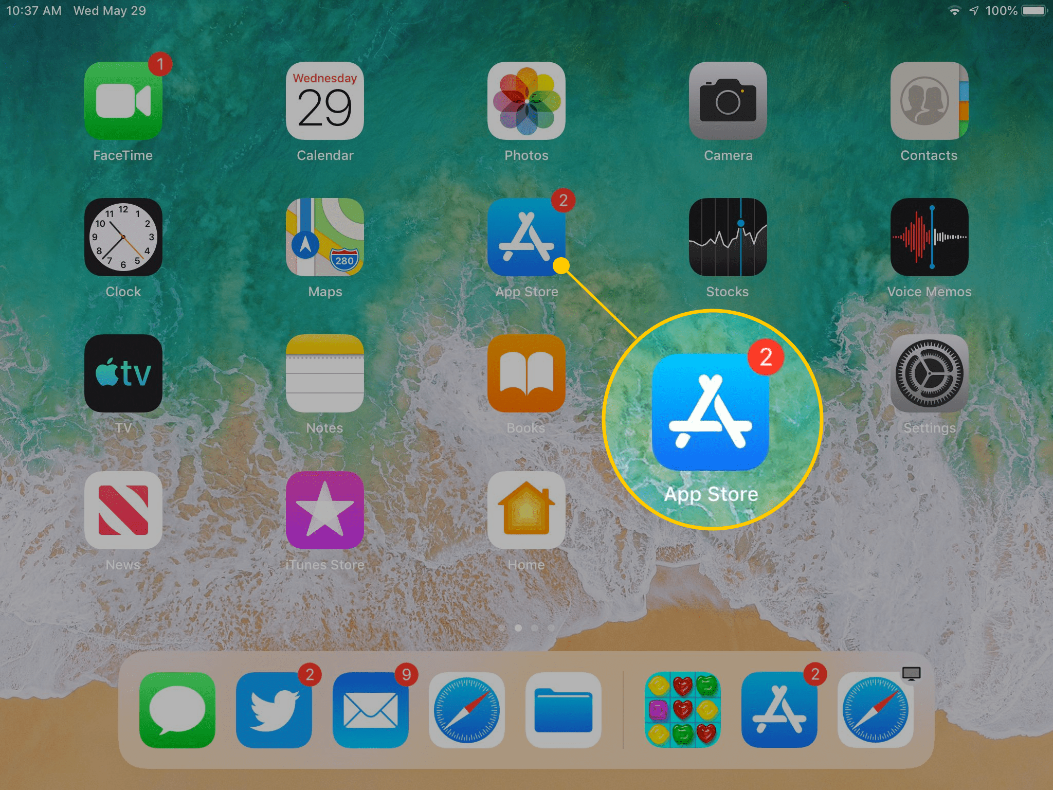 How to Download Your First iPad App