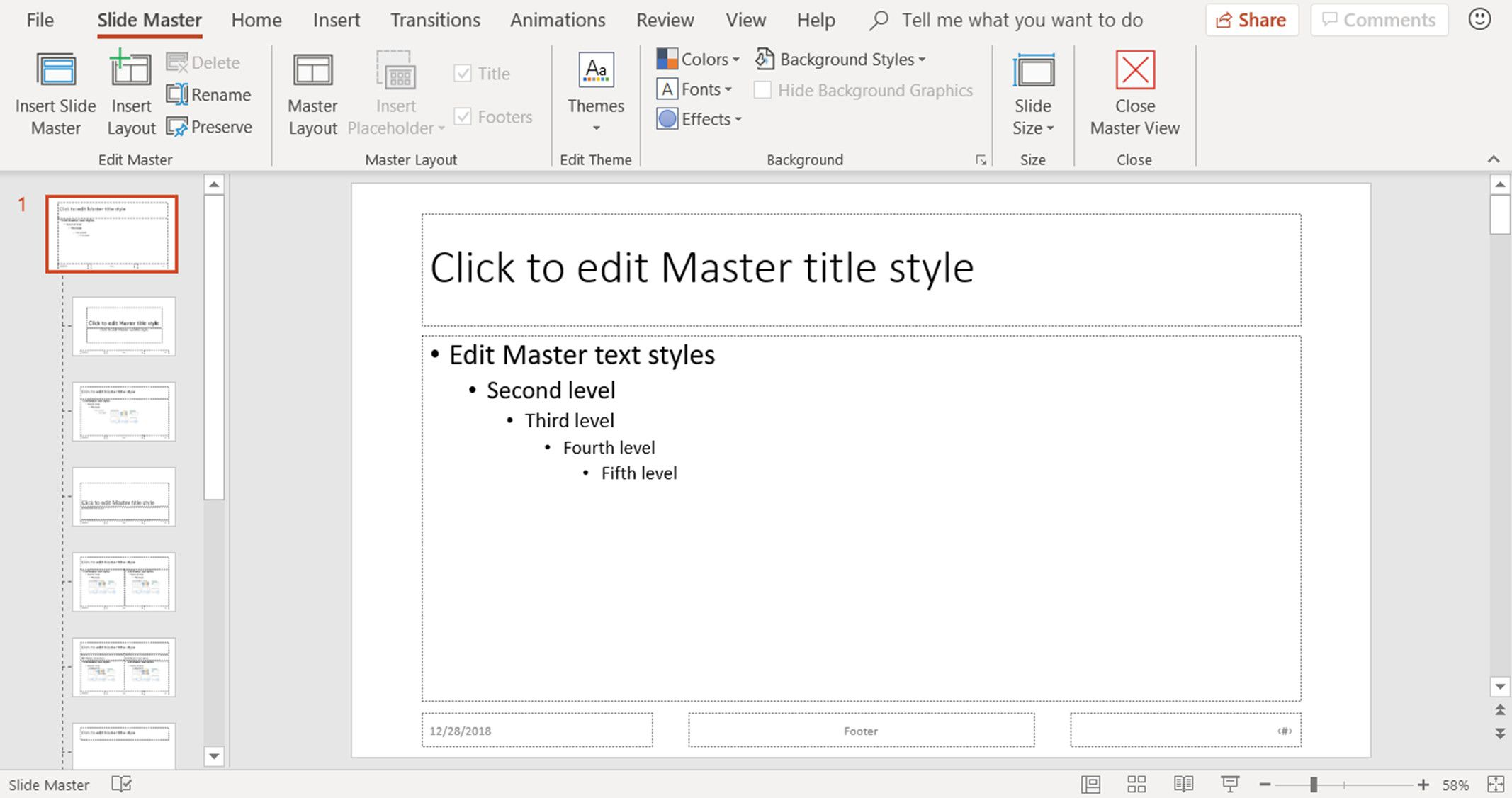 How To Use Powerpoint Slide Master Layouts
