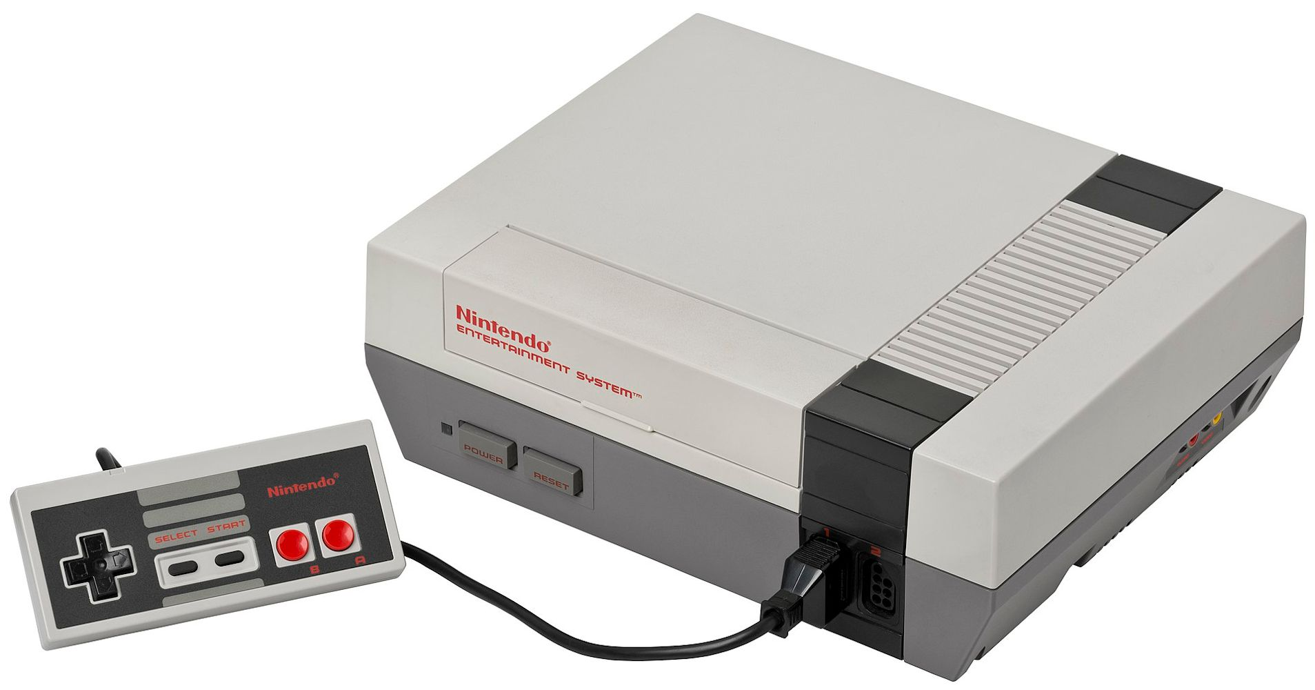 Nintendo Entertainment System home video game console