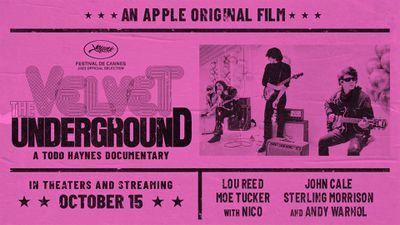Key art for the 2021 documentary 'The Velvet Underground'