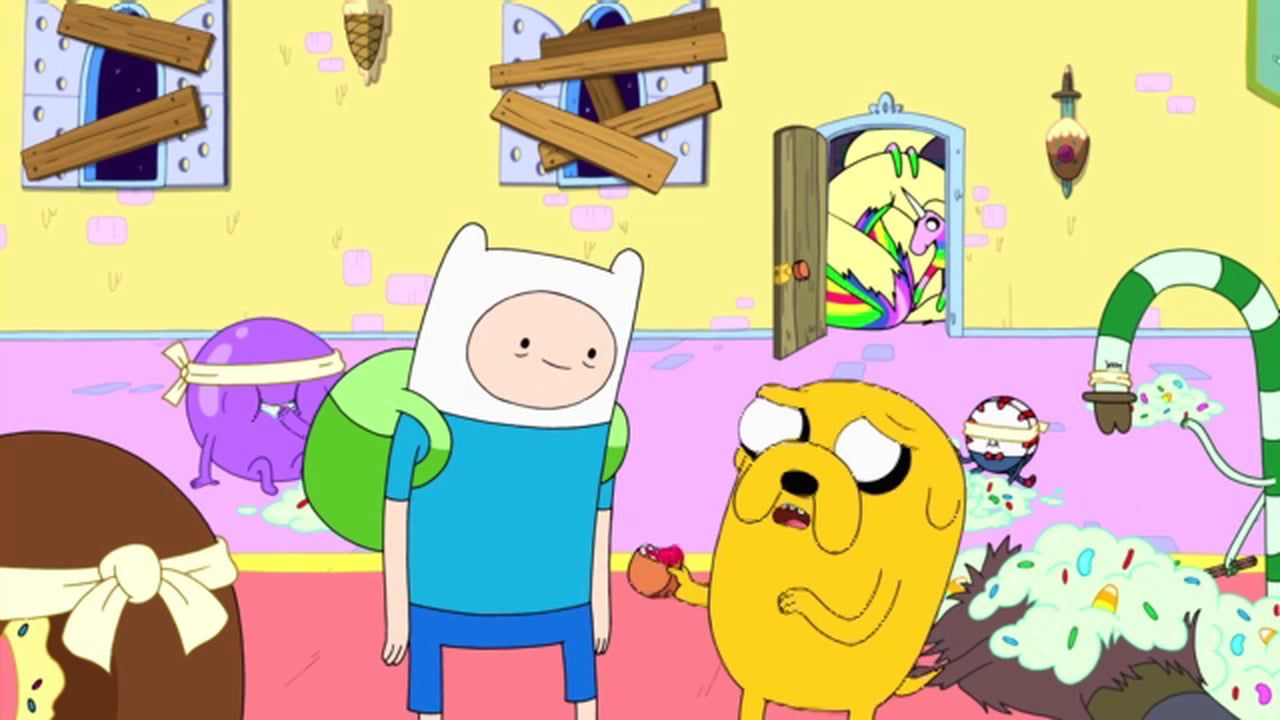 Finn and Jake in Adventure Time