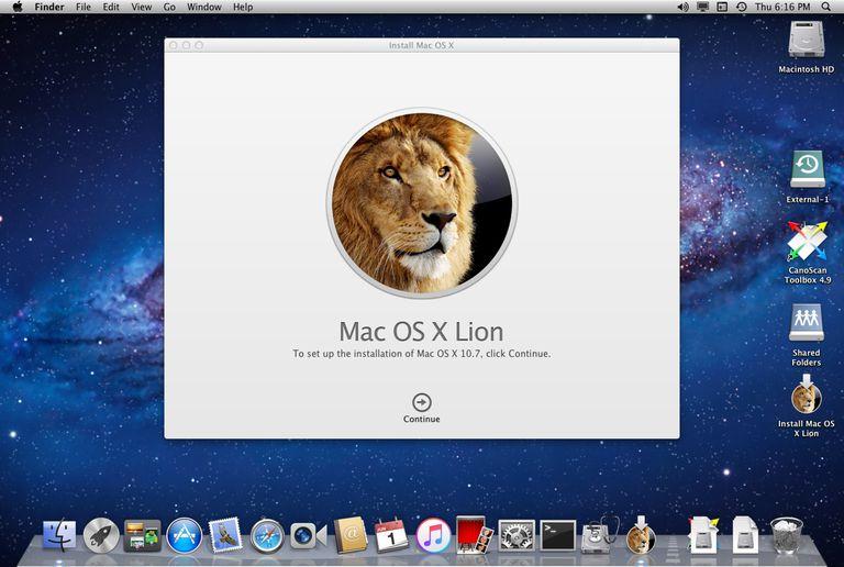 OS X Lion Installer